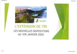 EXTENSION DE TRI JANVIER      2020