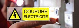 COUPURE ELECTRICITE RUE BRANDIN