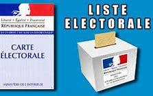 ELECTIONS ET LISTE ELECTORALE
