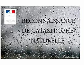 Reconnaissance état de catastrophe naturelle